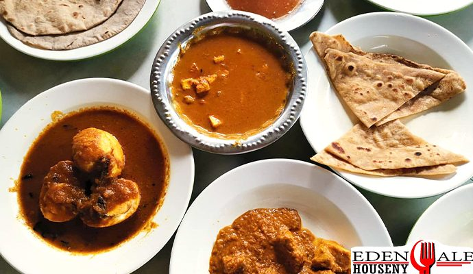 อาหารสไตล์อินเดีย Tony'sRestaurant ย่านสำเพ็ง พาหุรัต edenalehouseny สตรีทฟู้ด