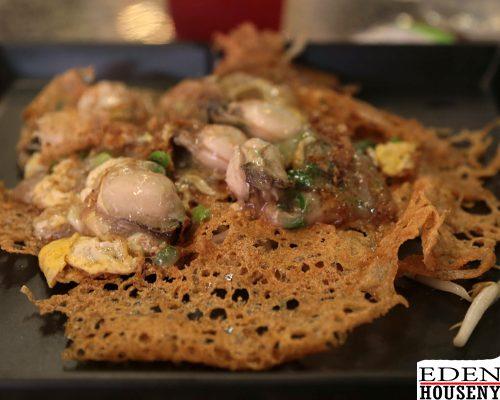 เฮงหอยทอดชาวเล หอยทอดสูตรต้นตำรับ ที่มาพร้อม แป้งบางกรอบ edenalehousenyร้านอาหาร