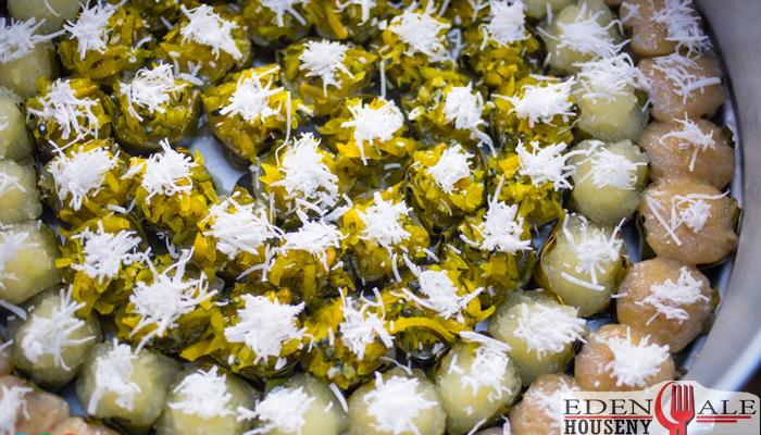 นันทาขนมไทย ของหวานตลาดนางเลิ้ง ตรอกนครสวรรค์ 6 edenalehouseny ของหวาน
